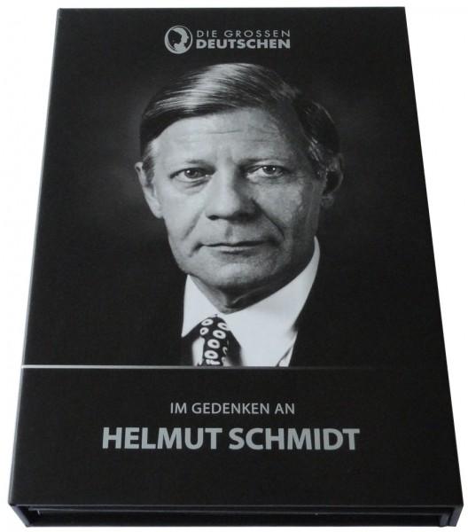 Salomonen 10 Dollars 0,5 gr Goldmünze Helmut Schmidt 2015 Die Grossen Deutschen