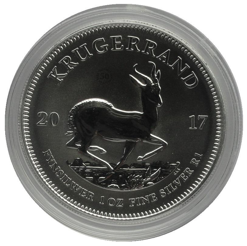Sud-Afrika-1-Oz-Silber-Krugerrand-2017-PU