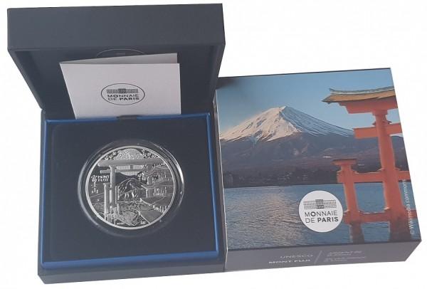 Frankreich 10 Euro Silber Mount Fuji 2020 Polierte Platte