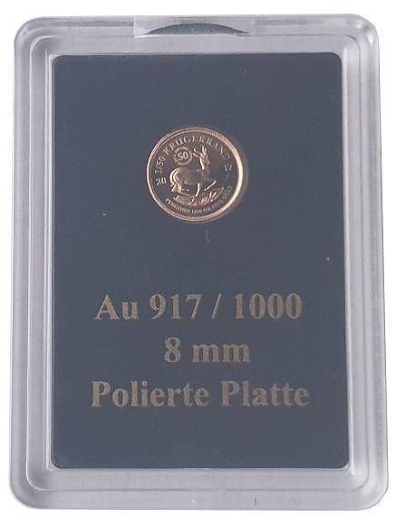 Südafrika Goldmünze 1/50 Oz Gold Krügerrand PP 2017 - Privy Mark 50 Jahre Jubiläumsausgabe