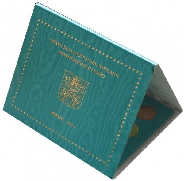 Vatikan 3,88 Euro 2013 Stgl. KMS Papst Benedikt XVI. im Folder